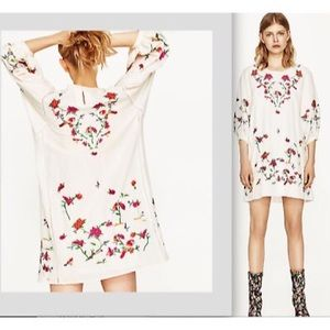 ❤️NWT❤️ Zara Embroidered Dress